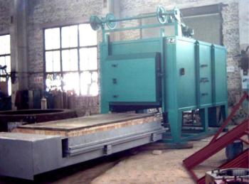 大型(xing)高溫台車爐